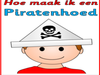 Kleurplaten Piratenhoed.123 Lesidee Piraten