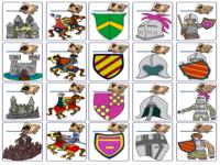 123 lesidee ridders for Werkbladen ridders en kastelen