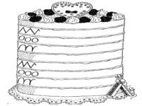 schrijfpatronen taart 123 Lesidee   gr3/4 W Patronen. schrijfpatronen taart